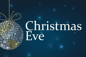 Christmas Eve Services:  Children's program during 10AM Sunday morning worship.  Candlelight Service at 7pm.