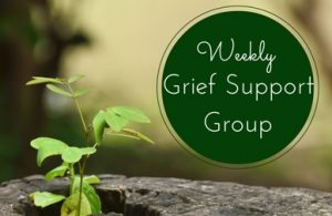 Grief Support Group: Next Meeting Tuesday, September 27th, 10AM.