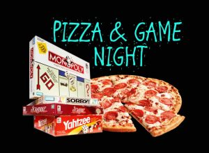 Mark Your Calendars!  EPIC Pizza and Game Night - October 16th.