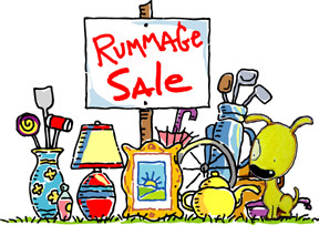 All Church Rummage Sale and Craft Corner - September 21-22.  Bring your donations to Hope and start making your craft projects now.  Tell your friends and neighbors!