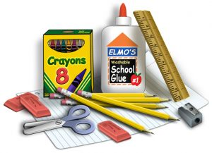 Collecting school supplies for Hope Chicago. Bring your donations to Hope before August 26th.