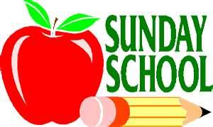Sunday School begins September 9th.